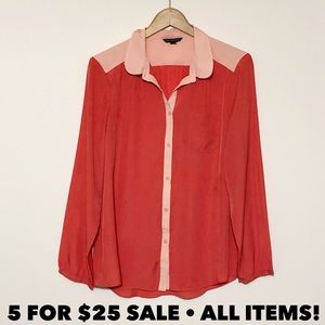 AEO Two Toned Blouse
